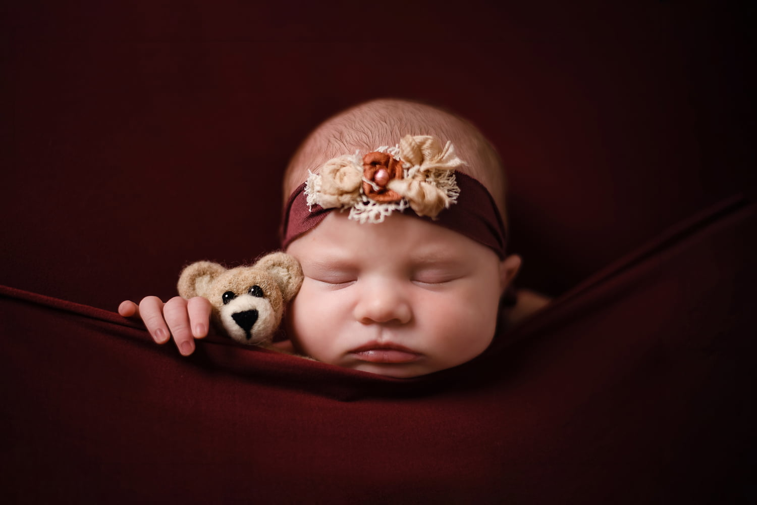 Newborn photo taken by Lisa Rowland Photography in Trenton, Florida