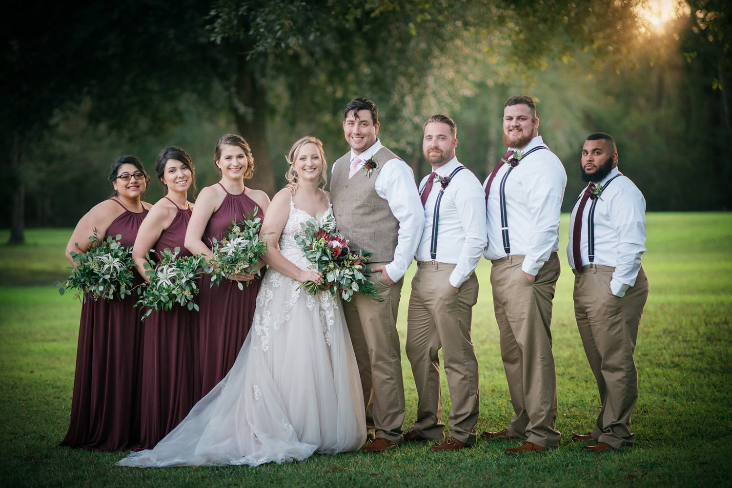 Wedding photo taken by Lisa Rowland Photography in Trenton, Florida