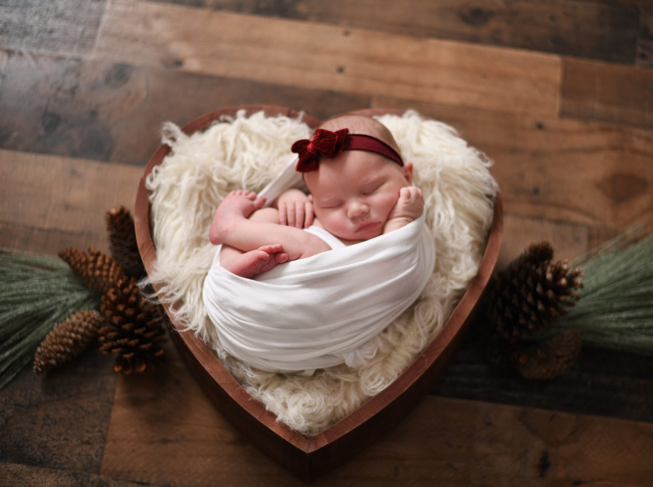 Newborn photo taken by Lisa Rowland Photography in Trenton, Florida