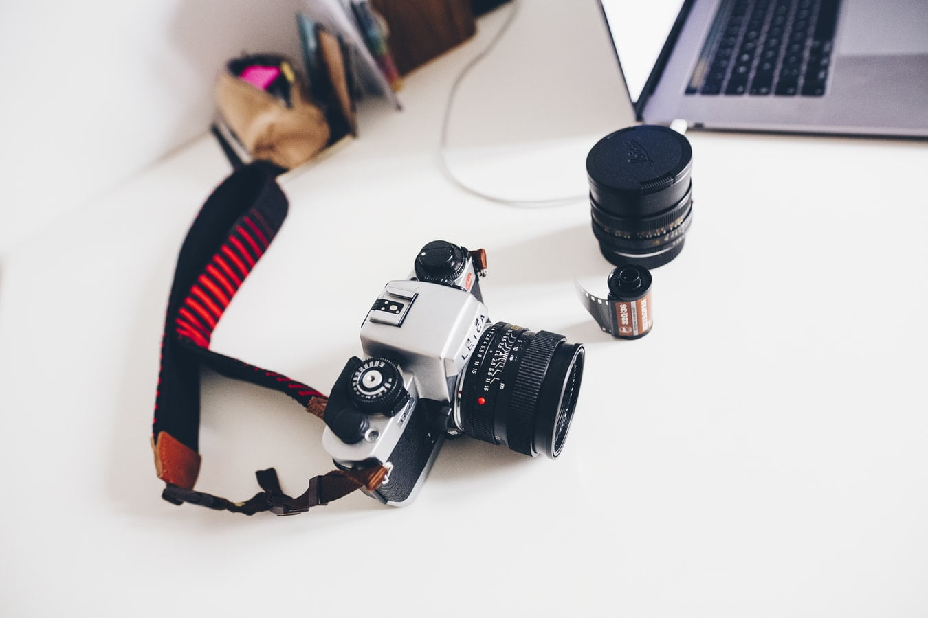 Professional photography equipment at the Lisa Rowland Photography Studio in Trenton, Florida