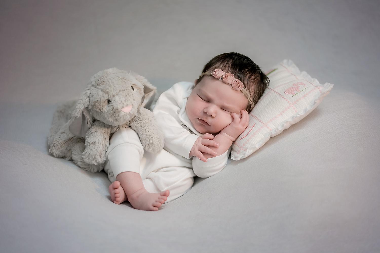 Newborn photo taken outside by Lisa Rowland Photography in Trenton, Florida